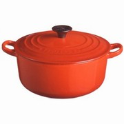 Le Creuset ココット・ロンド 20cm チェリーレッド